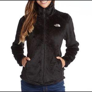 The north face black osito 2 fleece jacket medium